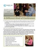 EventCamp East Coast Brochure